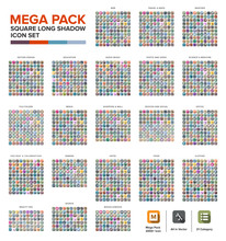 Mega Pack Icon Set Bundle Long...