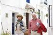 Senior couple on holiday in Europe