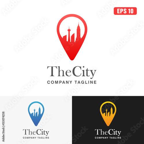 The City Logo Icon Vector Design Business Logo Idea Buy This