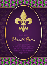 Mardi Gras Holiday Background....