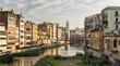 Girona (Catalunya, Spain) houses along the river