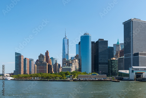 New York Manhattan - Skyline, Financial Destrict
