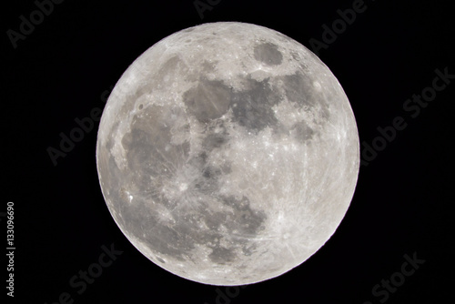 Obraz 満月 - fototapety do salonu
