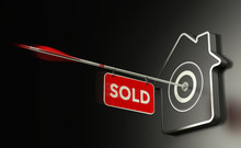 Real Estate Sold Concept, Efficient Sale Strategy.