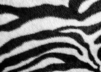 Tkanina od umjetne kože Zebra s uzorkom kože
