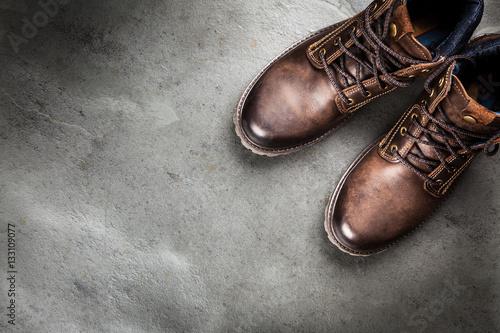 Fotografiet Pair of new boots