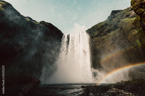 Waterfall and rainbows  - 133112221