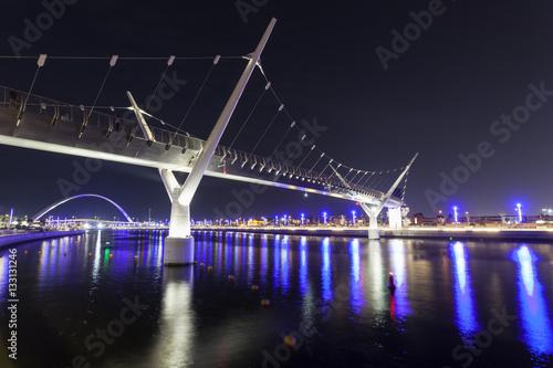 Fototapeta Dubai Water Canal Bridge
