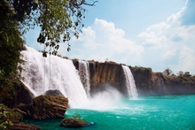 Waterfall Of Dray Nur