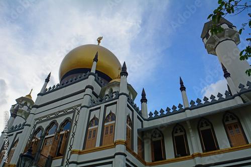 Photo  Sultan Mosque, Singapore