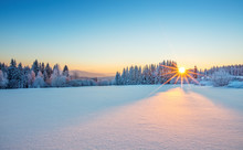Majestic Sunrise In The Winter...