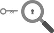 Magnifier and job key