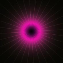 Purple Pink Shinning Neon Spik...