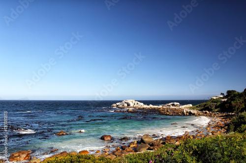 Foto op Plexiglas Zuid Afrika Küstenlandschaft auf der Kap-Halbinsel südlich von Kapstadt, Südafrika.