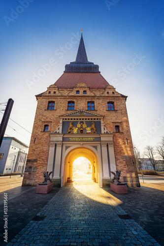 Fotomural  Steintor in Rostock
