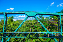 Some Part Of Memorial Bridge At Mae Hong Son Province