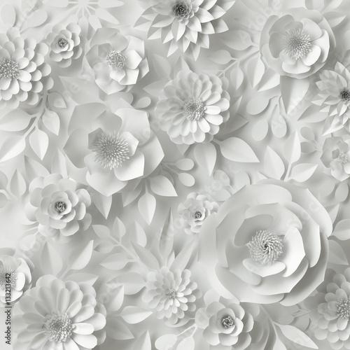 biale-papierowe-kwiaty