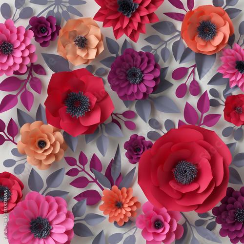 piekne-kolorowe-kwiaty-3d