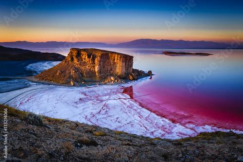 Fotografie, Obraz  Salt Paints the Coast