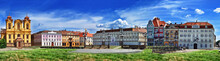 Panoramic View With Historica...