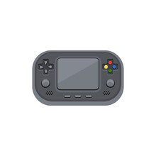 Handheld Game Console. Electro...