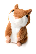 Soft Toy Hamster Isolated On W...