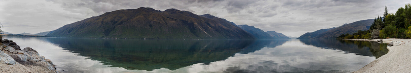 Lake Wakatipu, South Island...