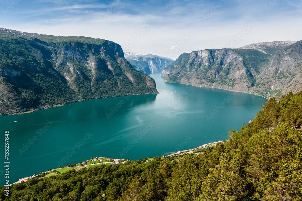 Aurlandsfjorden, Norway