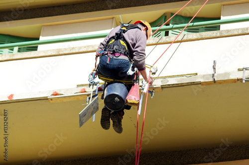 Fotografiet  chantier-travaux acrobatiques