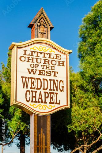 Poster Las Vegas Wedding Chapel - Las Vegas
