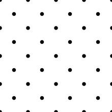 Seamless Rockabilly Polka Dot ...
