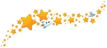 Big And Small Cartoon Stars