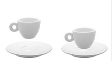 Cup For Espresso With Saucer.