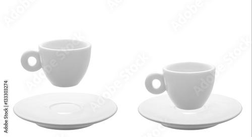 Obraz na płótnie Cup for espresso with saucer.