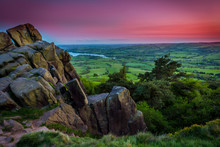 The Roaches At Sunset, Peak District National Park, UK