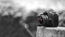 Digital Camera With An Old Fis...
