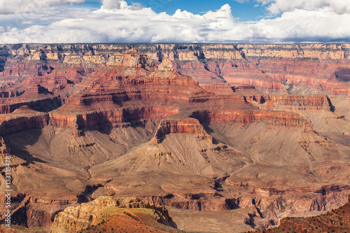 Keuken foto achterwand Canyon Scenic view Grand Canyon National Park, Arizona, USA. Panorama landscape sunny day with blue sky