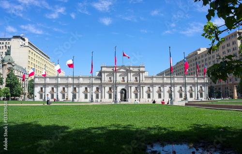 Papiers peints Amérique du Sud Santiago de Chile - Präsidentenpalast - II -
