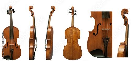 Obraz na plátně European violin antiques