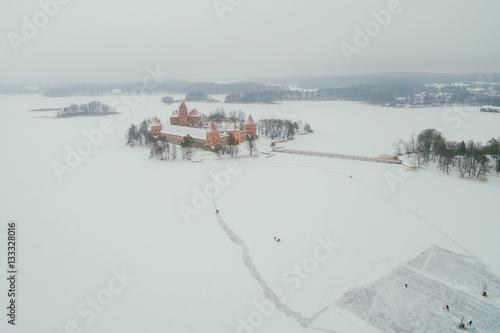 Papiers peints Arctique Famous Trakai Island Castle, Lithuania