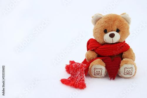 Teddy Bear.Love.Valentines Day.  #133330612