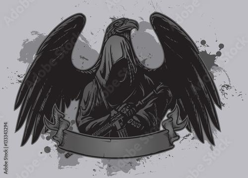 Photo  Grim Reaper justice warrior