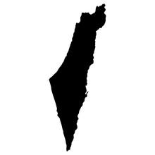 Map Of Israel, Vector Illustration