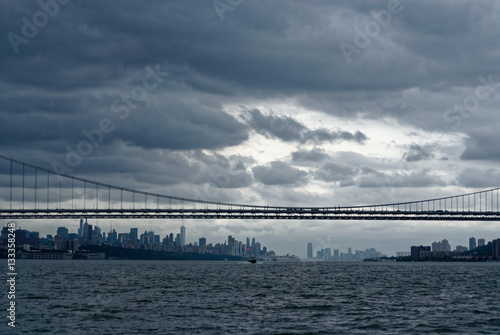 Fotografie, Tablou  Manhattan Skyline from Hudson River