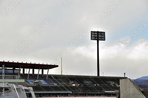 Spoed Foto op Canvas Stadion 山梨中銀スタジアム 照明