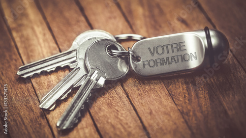 Fotografija porte clés métal : votre formation