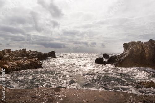 Valokuva  Wellen am Meer Mallorca