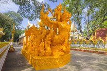 Buddhist Candle Wax