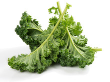 Raw Leaves Of Kale.