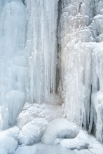 Ice, Frozen At Waterfall Casca...